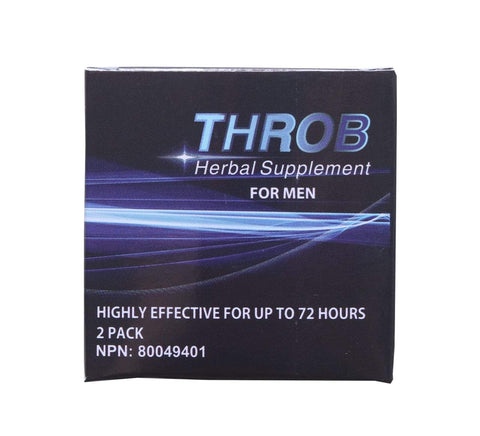 Sex Pills - Throb Herbal Supplement For Men (2 Caps)