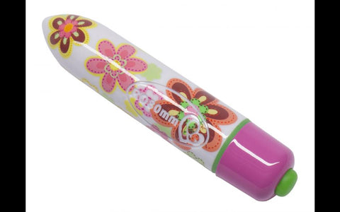 Sex Toy - 80mm Flower Coloured Bullet Vibrator