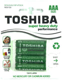 Toshiba Super Heavy Duty AAA Carded 4Pk Battery
