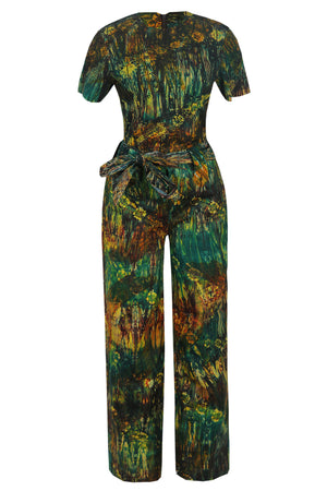 Load image into Gallery viewer, ADELA AFRICAN PRINT ADIRE CO-ORD SET - DESIRE1709