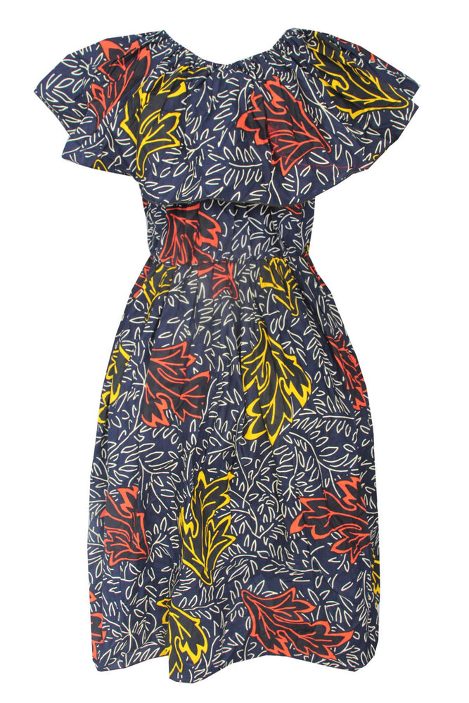 Load image into Gallery viewer, ANKARA PATTERN ALIYAH GOWN
