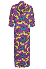 DESTA AFRICAN PRINT PURPLE MIX JACKET
