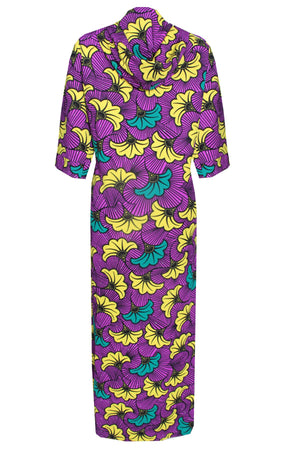 Load image into Gallery viewer, DESTA AFRICAN PRINT PURPLE MIX JACKET - DESIRE1709
