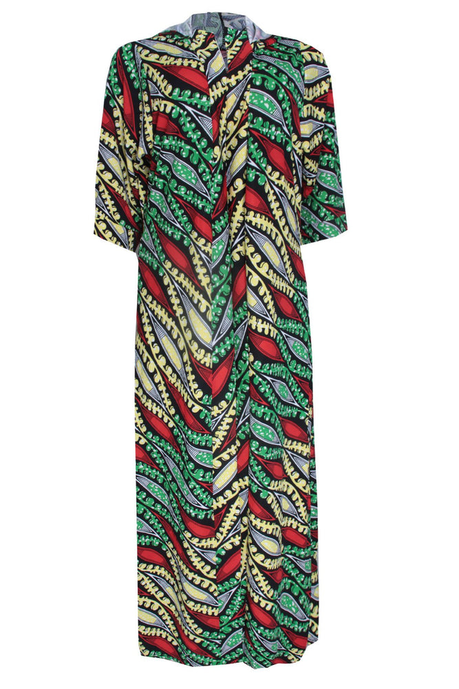 Load image into Gallery viewer, DESTA AFRICAN PRINT HOODED KIMONO JACKET - DESIRE1709