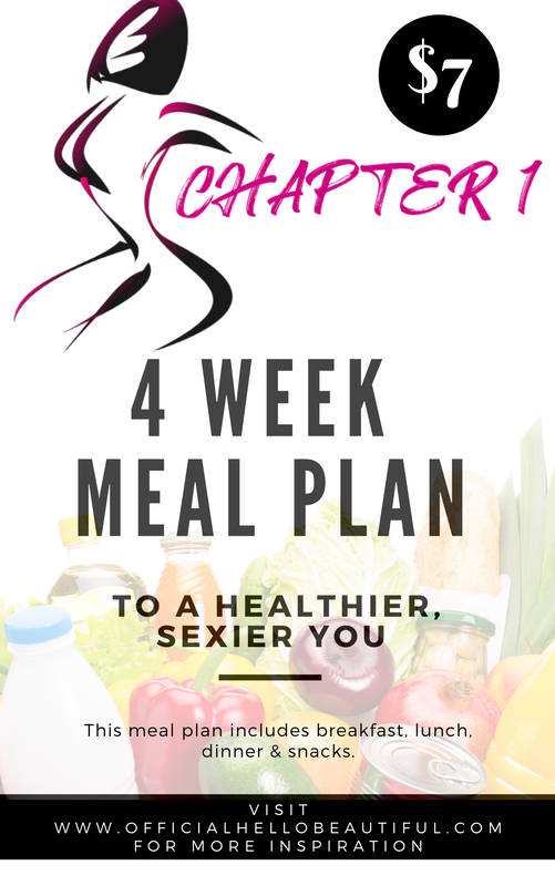 Chapter 1 Meal Plan - Ebook