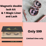 Magnetic Double kit & Magic Liner+ Lash