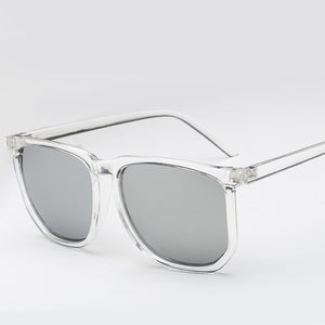 Angel Transparent Mirrored Sunglasses UV Protected