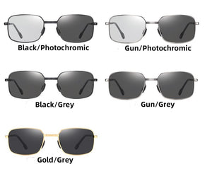 Noah's Folding Photochromic Sunglasses with Polarized Lens