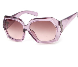 Madison's Retro Hexagon Sunglasses UV Protected