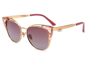 Cami's Hollywood Style Cat Eye Polarized Sunglasses