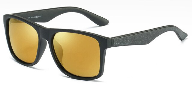 Melvin's Mirrored Titanium Polarized Sunglasses