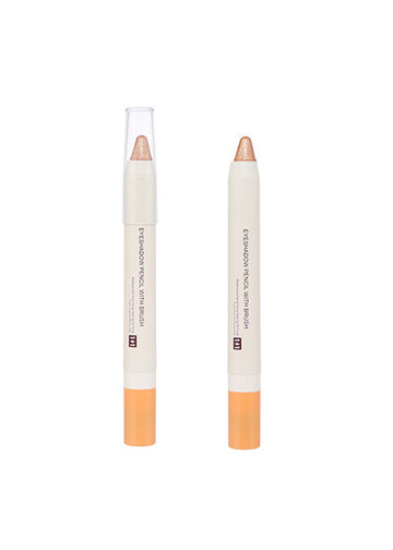 Miniso 1+1 Eyeshadow Pencil with Brush (02 Oat Color) 200042874