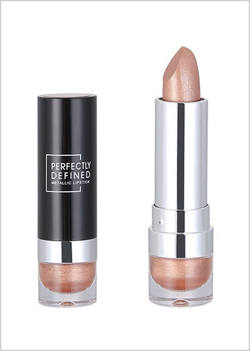 Miniso Perfectly Defined Metallic Lipstick(02 Amber) 200044681