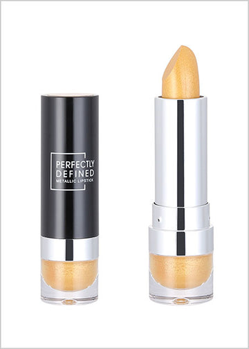 Miniso Perfectly Defined Metallic Lipstick(01 Gold) 200044683