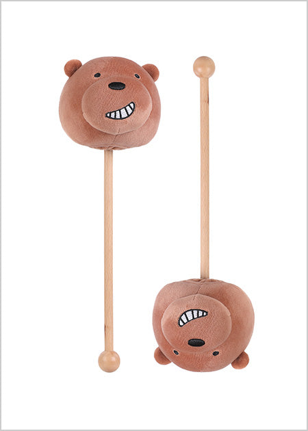 Miniso We Bare Bears-Massage Hammer (Grizzly) 200435193
