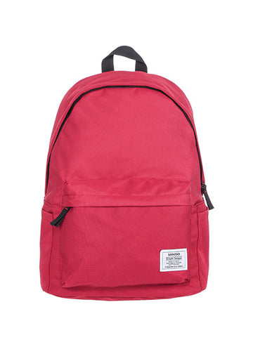 Miniso Scholar Backpack - Red 800021882