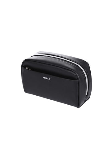 Miniso Large Fashionable Cosmetic Bag(Black) 800022001