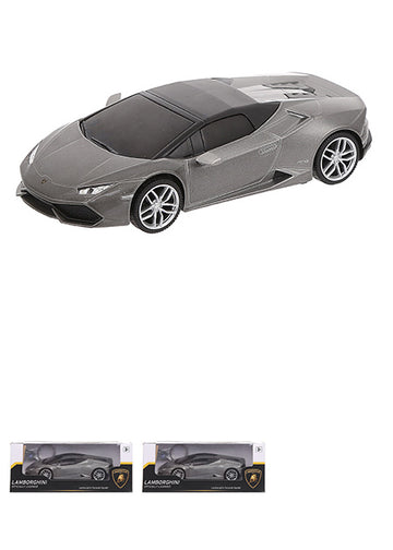 MINISO OFFICIALLY LICENSED 1:32 LAMBORGHINI LP610-4(REFUELLING TYPE) - 68422(GREY) 1100001552 TOY WITH SOUND AND LIGHT