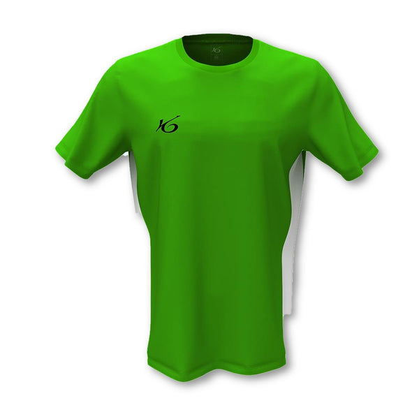 K6 Green Jersey Short Sleeve Football Uniform.