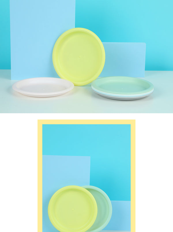 MINISO COLORFUL ECO-FRIENDLY PLATE 6 PACK 2006877610104 BOWL/PLATE/DISH