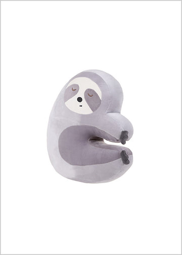Miniso Cute Cuddling Sloth Plush Toy 2006925410106