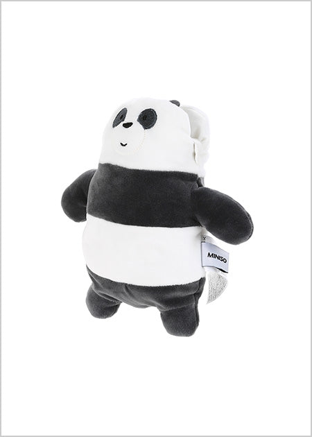 Miniso We Bare Bears-Plush Crossbody Bag (Panda) 2006930610102