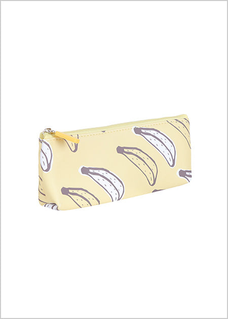 Miniso Fruit Series Pencil Pouch Banana- B 2006990610104