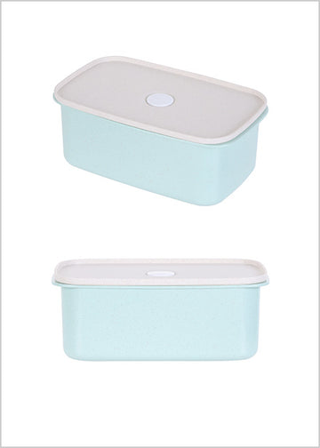 Miniso Wheat Food Container 950ml (Green) 2007005411105