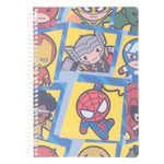 Miniso Marvel-  Wirebound Book 100 Sheets,TYPE A,Mixed Design 2007111810106