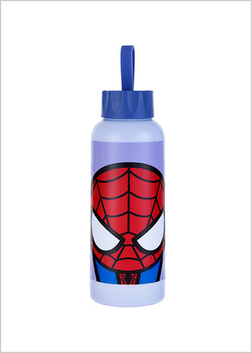 Miniso MARVEL- Glass Water Bottle 300ml,Spider-man 2007144011105