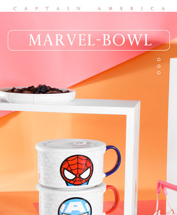 Miniso MARVEL- Bowl 650ml,Captain America 2007144110105