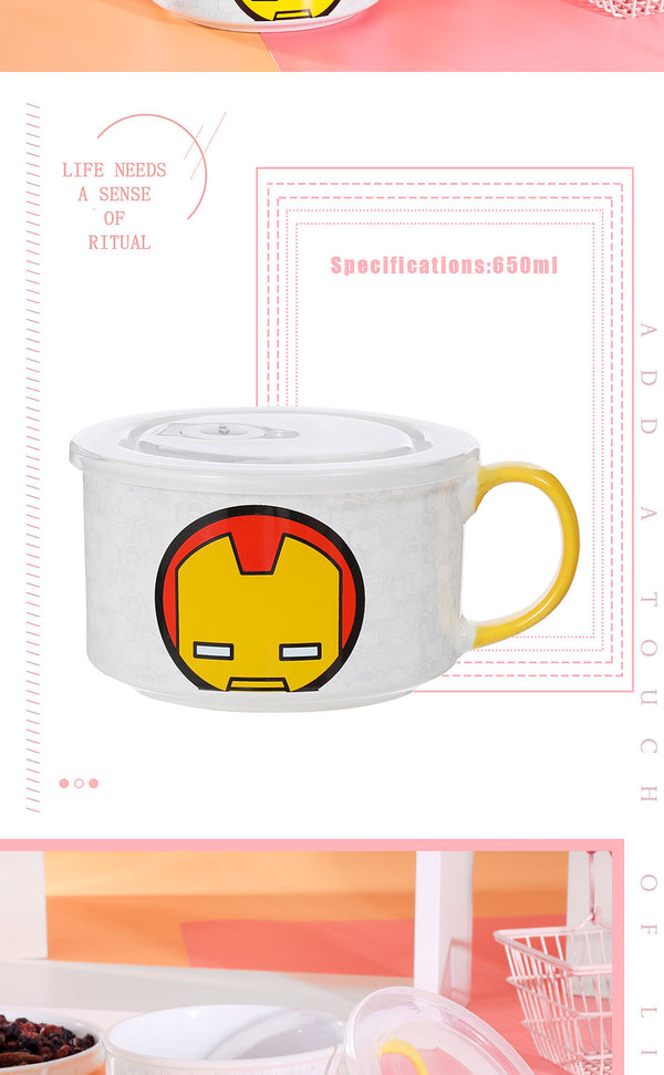 Miniso MARVEL- Bowl 650ml,Iron Man 2007144115100