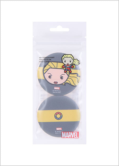 Miniso Marvel Air Cushion Puff-Captain Marvel 2007145412109