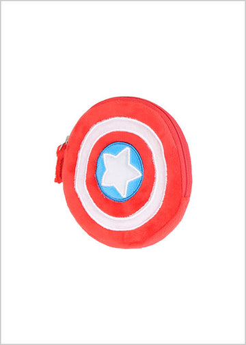 MINISO MARVEL-COIN PURSE,CAPTAIN AMERICA 2007162614104 COIN PURSE