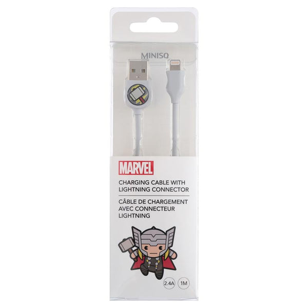 Miniso MARVEL Charging Cable with Lightning Connector 2007171212100