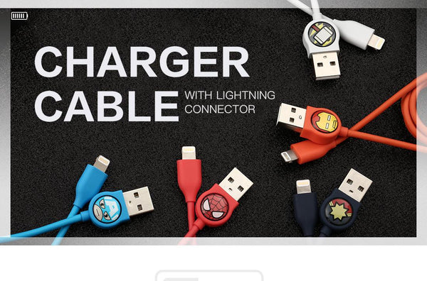 Miniso MARVEL Charging Cable with Lightning Connector 2007171214104