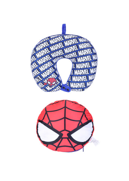 Miniso Avengers- 2in1 U-shaped Pillow,Spider Man 2007172212109
