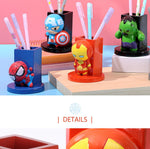 Miniso Marvel Collection Pen Stand, Iron Man 2007238711102