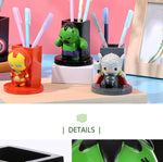 Miniso Marvel Collection Pen Stand, Hulk 2007238714103