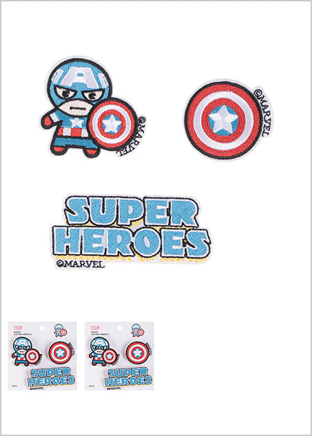 Miniso MARVEL Badge,Captain America 2007268815108