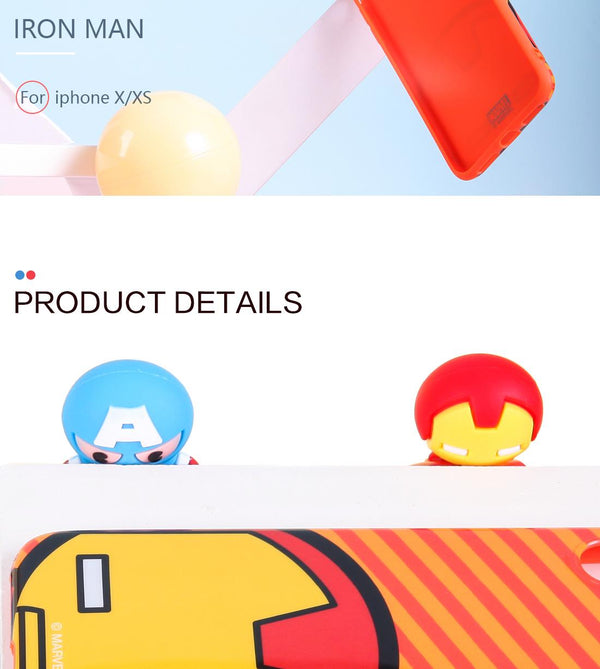 Miniso MARVEL Phone Case for iPhone X/XS 2007281311106