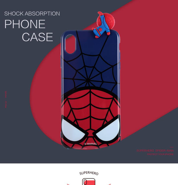 Miniso MARVEL Phone Case for iPhone XS Max 2007281510103