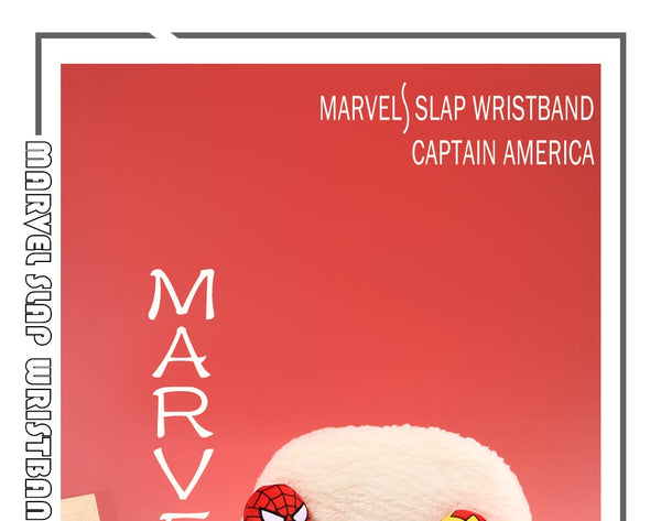 Miniso Marvel Slap Wristband-Captain America 2007291710104