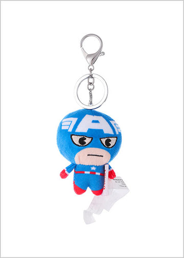 Miniso Marvel Kawaii Plush Pendant-Captain America 2007470710109