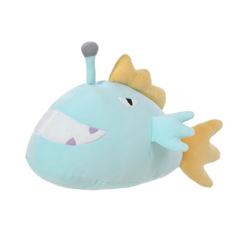 Miniso Anglerfish Plush(Light Blue) 2007648710108