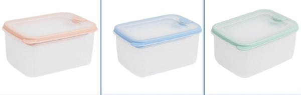 Miniso Food Container(3 Pack) (Blue) 2007871912102