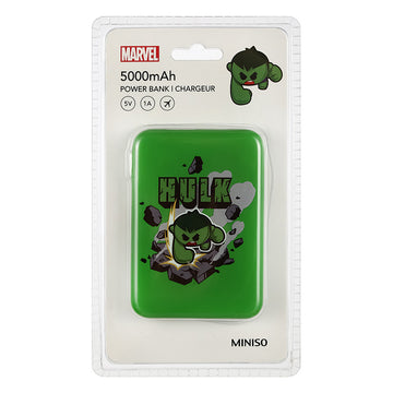 MINISO MARVEL COLLECTION 5000MAH POWER BANK(HULK) 2008091516101 POWER BANK