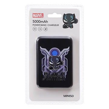 MINISO MARVEL COLLECTION 5000MAH POWER BANK(BLACK PANTHER) 2008091517108 POWER BANK