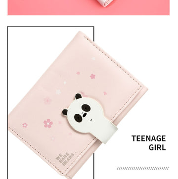 MINISO WE BARE BEARS WALLET(PANDA) 2008182010105 WOMEN'S WALLET