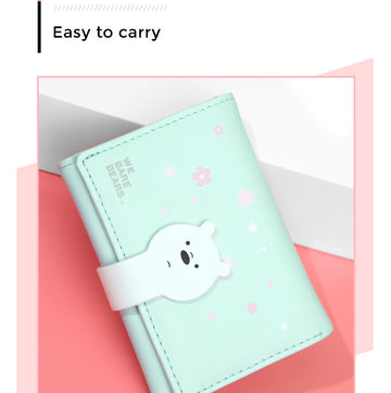 MINISO WE BARE BEARS WALLET(ICE BEAR) 2008182011102 WOMEN'S WALLET
